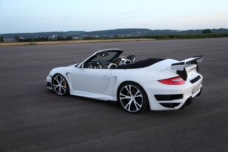 Double victory: The Porsche GTStreet R based on the Porsche 911 Turbo Cabriolet