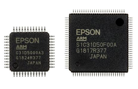 S1C31D50 (Package Type: TQFP12-48pin, QFP15-100pin)