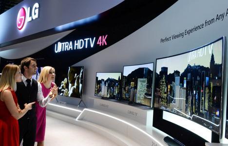 LG IFA 2014 4K OLED TV Line Up