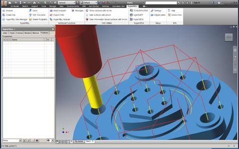 hyperMILL® 2015.1 certified for Autodesk Inventor 2016 (Image source: OPEN MIND)