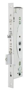 Der MEDIATOR ist geballte Power – ein selbstverriegelndes Fluchttürschloss (AA_Schloss) kombiniert mit einem elektrischen effeff-Lineartüröffner (AA_Lineartüröffner) / Foto: ASSA ABLOY Sicherheitstechnik GmbH