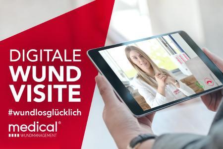 Kliniken, Pflegeheime & -dienste sowie Ärzte können über die Digitale Wundvisite schnell und ganz einfach Patienten zur Wundversorgung anmelden.