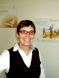Sabine Lonien, Vorstandsmitglied VOI e. V.