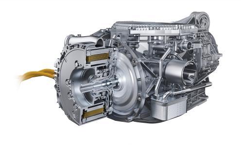 Elektromotor des Porsche Spyder 918. / Quelle: Porsche