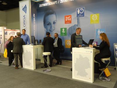 AIDA ORGA auf der Fachmesse Zukunft Personal 2016 in Köln (18.10. - 20.10.2016)