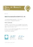 "WAGO erhält ""Seal of Quality Gold"""