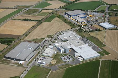The SCHAUFLER academy will serve as a representative reception building for the Rottenburg production facility