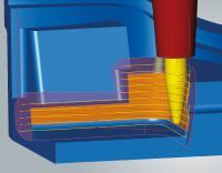 Konische Tonnenfräser sind jetzt auch für das 3D-Form-Ebenenschlichten einsetzbar, Bild: OPEN MIND