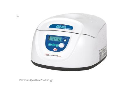 Abb. PRF Duo Quattro Zentrifuge