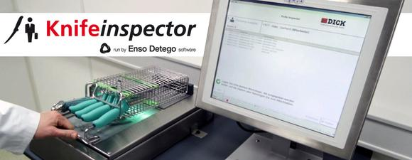 Knifeinspector run by Enso Detego Software Zuordnung