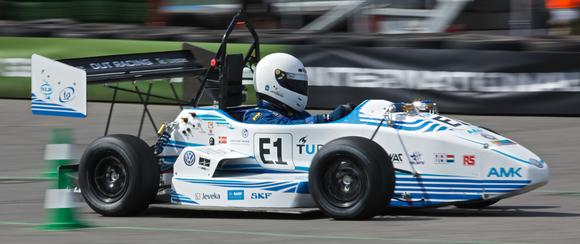 The winning auto of the students from Delft