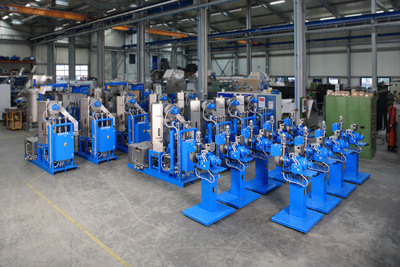 Eleven BKG pelletizing systems at one stroke