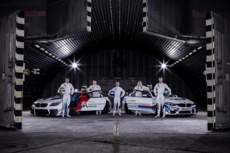 BMW Motorsport Junior Programm, Nico Menzel, Ricky Collard, Beitske Visser, Mikkel Jensen, Dennis Marschall