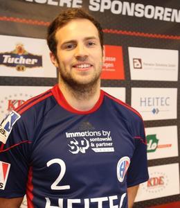 [PDF] Pressemitteilung: Moritz Weltgen war mit fünf Treffern wieder maßgeblich am HCE-Erfolg beteiligt
