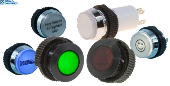 LED indicators mounting-Ø 16 mm from Signal-Construct.