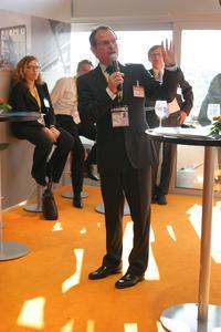 Der Vortrag von Udo Mager, Geschäftsführer der Wirtschaftsförderung Dortmund, zu den aktuellen Entwicklungen auf PHOENIX fand großen Zuspruch.