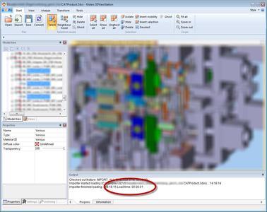 3D-CAD-Viewer mit Bi-Turbo: Kisters 3DViewStation V12.0