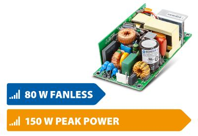 """New 2x4"""" industrial power supplies for conduction cooling certifed to safety standard IEC/EN/UL 62368-1"""