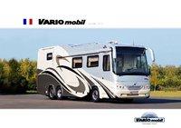 VARIOmobil camping cars. Modèles 2010. Catalogue français.