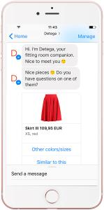 Detego launches new mobile, chatbot and AI solutions for fashion retailers at NRF
