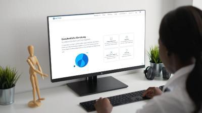 Relaunch-Vorschau der Website von KeyToData