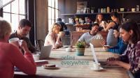 Egal ob im Café, im eigenen Garten oder in der persönlichen Schaffensoase: Arbeiten von überall geht ohne Stress und Druck.