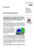 [PDF] Pressemitteilung: Marktanreizprogramm für Mini-BHKW verlängert - greenPower by KUHSE bietet effiziente Lösungen
