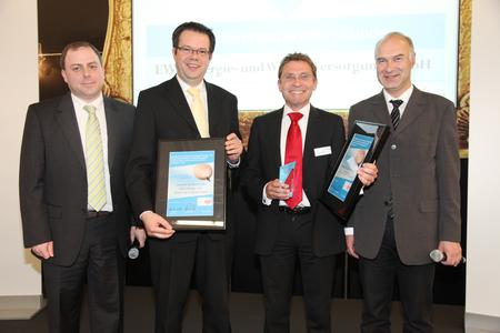 BestPractice-Award 2010  der Fachmesse e_procure in Bronze an Simmeth System GmbH und Realisierungspartner EWV Energie- und Wasser-Versorgung GmbH.