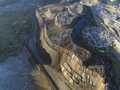 Die Excelsior-Halde; Foto: Cerro de Pasco