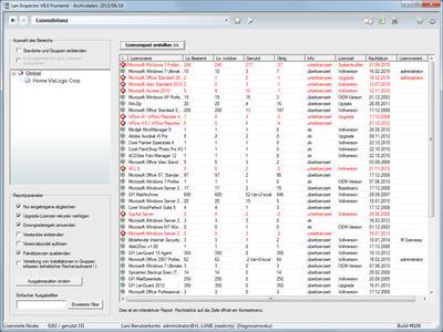 Lan-Inspector 8 inventarisiert auch mobile Clients: per E-Mail