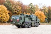 Major order from Liebherr: Rheinmetall to supply protected cabs for a new generation of Bundeswehr crane vehicles