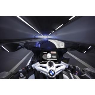 BMW Motorrad ConnectedRide - Fahrzeug-zu-Fahrzeug-Kommunikation: Schlechtwetterwarnung