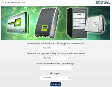 KOSTAL Solar Repower Check
