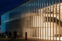 Beeindruckende Museumsfassade: Transparenter geht's nicht!