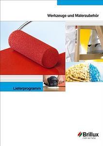 Das neue Lieferprogramm Werkzeuge und Malerzubehör bietet dem Handwerker alles für die tägliche Arbeit.