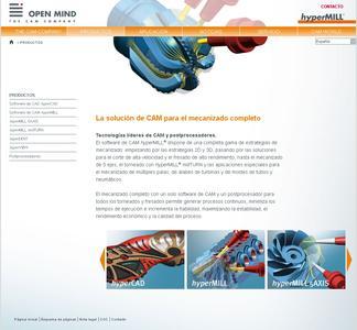 Neue Sprachversion: Webauftritt von OPEN MIND auf Spanisch / Bild: OPEN MIND