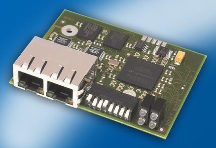 Industrial Ethernet Module for PROFINET, EtherCAT, EtherNet/IP und Powerlink