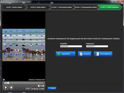 Ideal für Hobby- und Semiprofi-Filmer: Video Explosion Deluxe ud Ultimate (Screenshot)