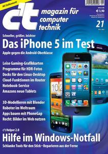 Das iPhone 5 im c't-Vergleichstest
