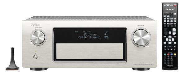 AVR-3313 Premium Silber mit Fernbedienung und Mikrofon