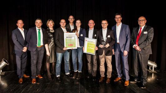 Die Gewinner des Gebrauchtwagen Awards 2016: 1. Platz für das Autohaus Kunzmann, Aschaffenburg (Foto: Stefan Bausewein)