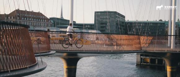 Copenhagen - Donkey Bike bridge