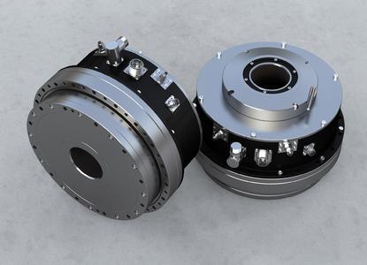 Nabtesco präsentiert mit der Kombination aus einem Flach-Servomotor  mit der bewährten Präzisionsgetriebetechnologie eine neue Antriebslösung