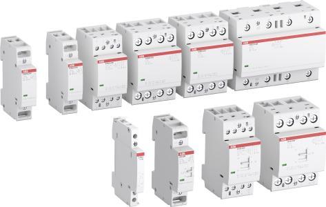 Die neue Baureihe der Installationsschütze arbeitet absolut brummfrei und ist für Stromstärken von 16 bis 100 A geeignet / Quelle: ABB