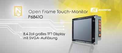 AXIOMTEKs Industrie Open Frame Touch-Monitor