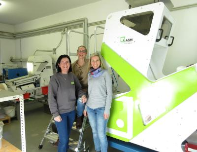 Best colour sorting technology ensures purest seeds