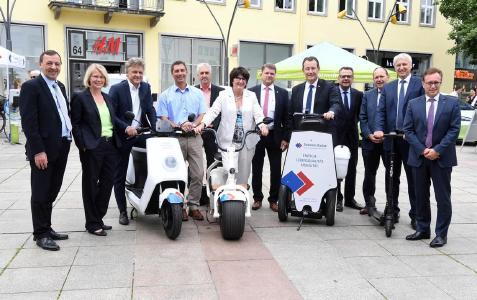 2. Regionalkonferenz Mobilitätswende - Rundgang Marktplatz Mobilität© TechnologieRegion Karlsruhe