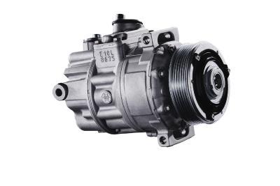 Wiederaufgearbeiteter Klimakompressor von BORG Automotive: ein Gewinn für Werkstatt, Autofahrer und die Umwelt.