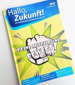 """Der neue Jugendratgeber von """"Hallo, Zukunft!"""" ist da"""