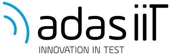 """""""ADAS iiT – Innovation in Test"""" ist ein Zusammenschluss der vier NI-Partnerunternehmen Konrad Technologies GmbH, SET GmbH, S.E.A. Datentechnik GmbH und measX GmbH & Co. KG."""
